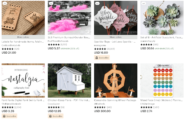 etsy store cost