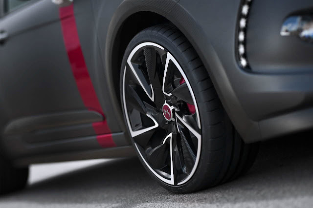 Citroën DS3 Cabrio Racng Concept car tire