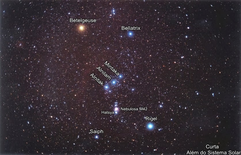 an analysis of the stars in the constellation of orion Named after the greek hunter, the constellation of orion is one of the most famous constellation in the sky visible in the night sky from november to february on the celestial equator, the constellation of orion contains two of the ten most brightest stars with rigel being orion's brightest star.