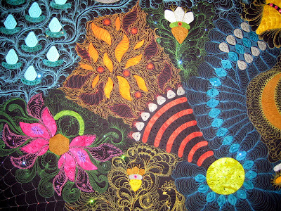 Linda Taylor free motion quilting