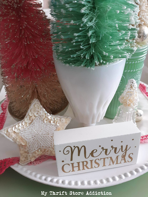 15 minute Christmas centerpiece
