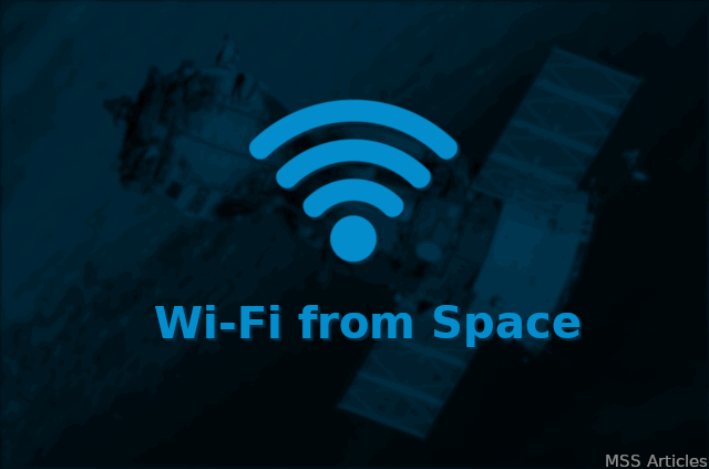 Internet Wifi from Space