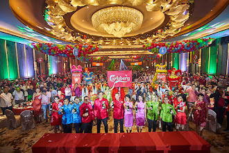 Celebrate Prosperity, Happiness, Wealth and Good Luck in Vibrant Red, Pink, Green and Blue with Carlsberg This CNY!