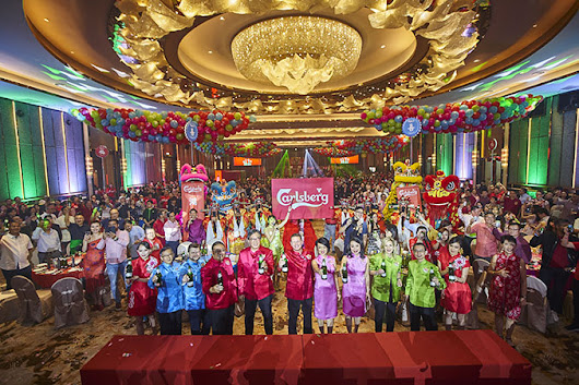 Celebrate Prosperity, Happiness, Wealth and Good Luck in Vibrant Red, Pink, Green and Blue with Carlsberg This CNY! - CleverMunkey | Events. Food. Gadget. Lifestyle. Travel.