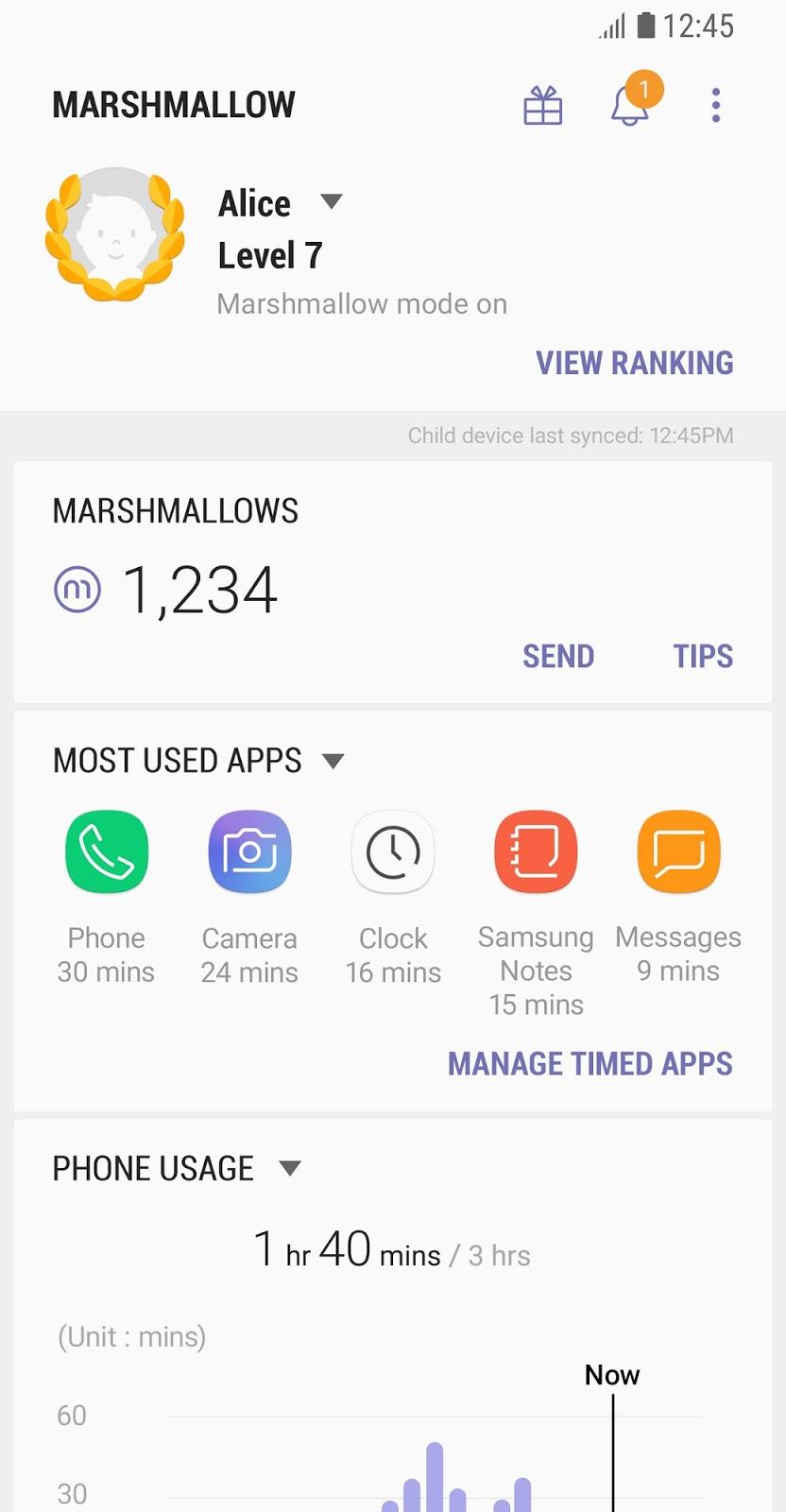 Samsung Marshmallow points