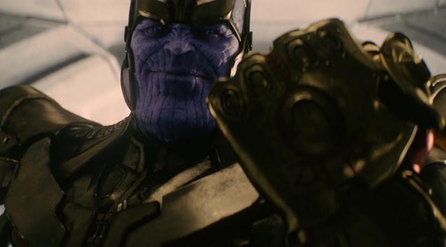 avengers thanos gauntlet infinity war