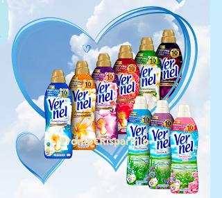 Logo Concorso Henkel: vinci 30 forniture annuali di Vernel