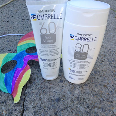 Garnier Ombrelle Sunscreen Review