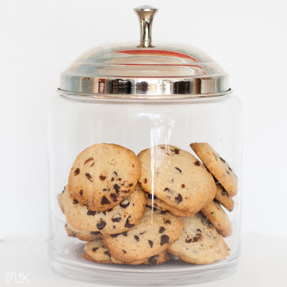receta cookies con pepitas de chocolate