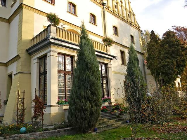ogrody zamkowe, zabytki architektury, Czerna