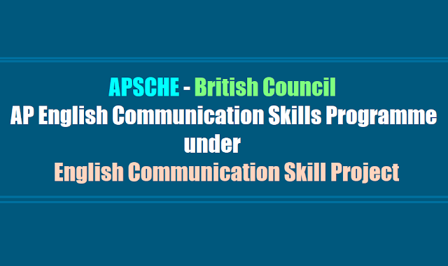 Students can join the AP English Communication Skills Programme by APSCHE - British Council