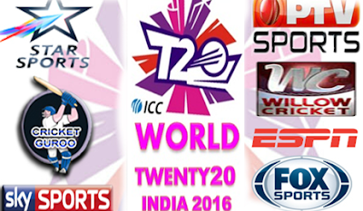 icc t20 world cup 2016 live streaming