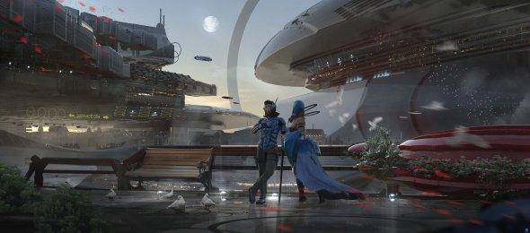Wadim Kashin artstation deviantart arte ilustrações ficção games espaço cibernético