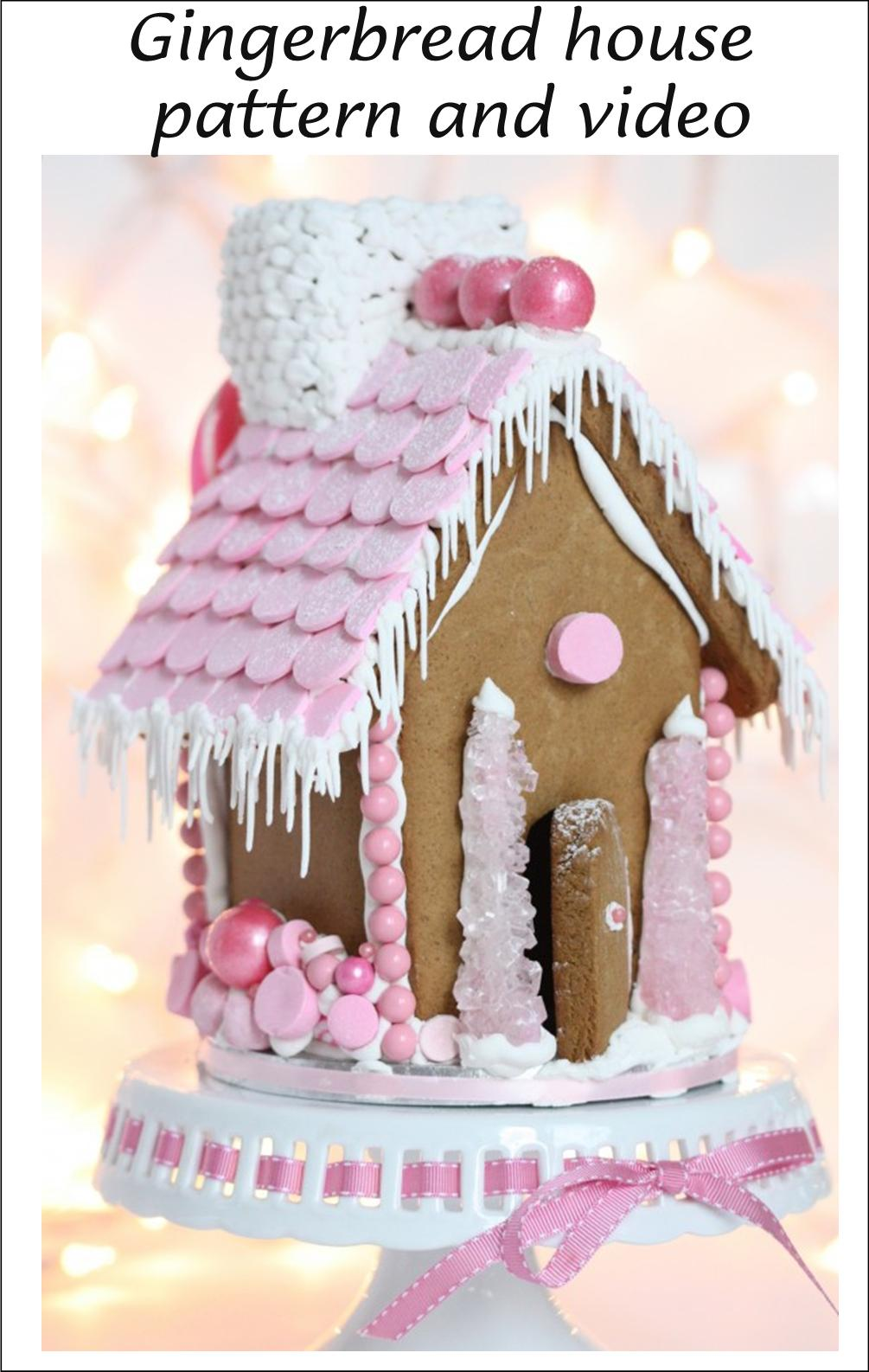 christmasgingerbreadhousepatternandvideo Front Wall Of Simple House Designs on front of house decor, front of house trees, front of house lighting, front of house signs, front of house awards, front of house storage, front of house landscaping,