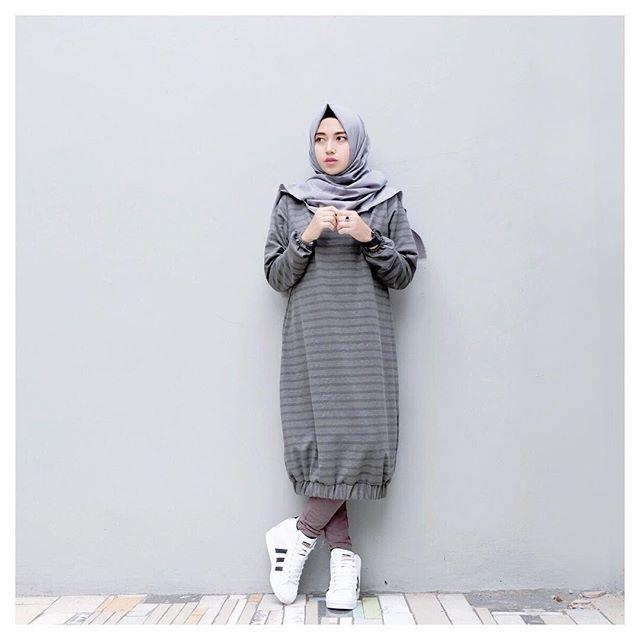 25 Trend Fashion Hijab Masa Kini Terbaru 2018