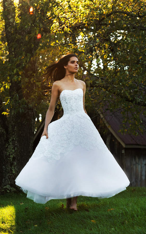 Isabelle Armstrong Cleo Tea Length Tulle Ball Gown