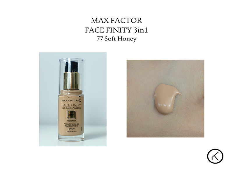 Max Factor Face Finity 3in1 77 soft honey klik