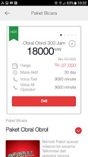 Paket Bicara Obral Obrol Telkomsel 300 Jam 18000 Menit 30 Hari