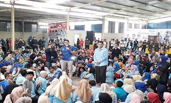 Guru Honorer Deklarasi Dukung Prabowo - Sandi