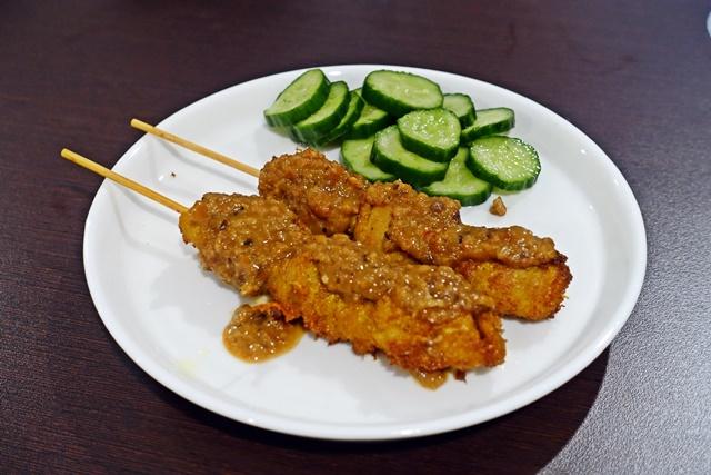 素食 沙嗲串燒