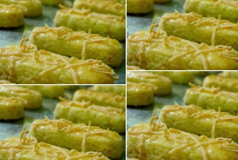 Resep Cake Keju Enak: Resep Kastengel (Kue Keju Kraft) Renyah Enak