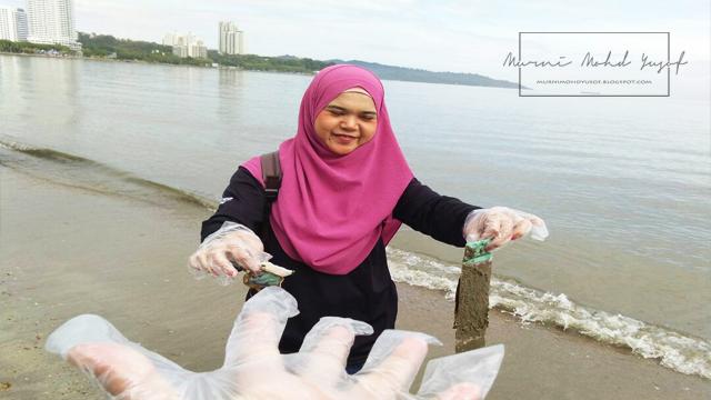 Program V.I.P: Membersihkan Pantai Tanjung Lipat, Kota kinabalu, Sabah.