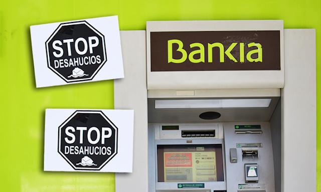 Desahucian a una mujer y su hija menor de edad por una deuda de 2.500 euros a Bankia