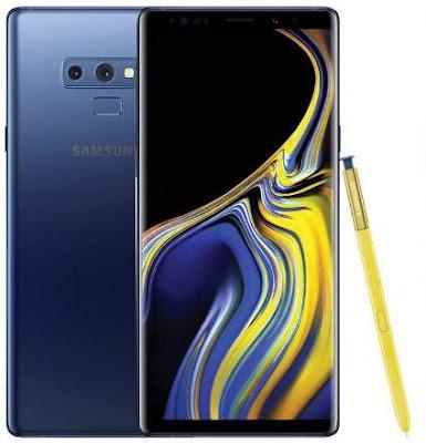 Prediksi Samsung Galaxy Note 9 Warna Blue