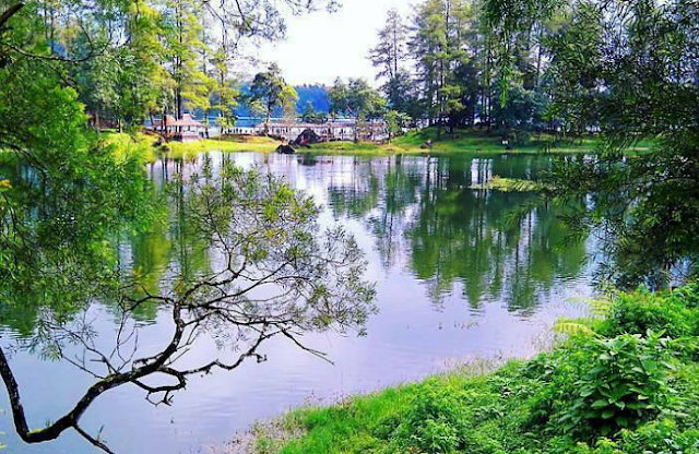 danau situ patenggang ciwidey bandung, danau situ patengan