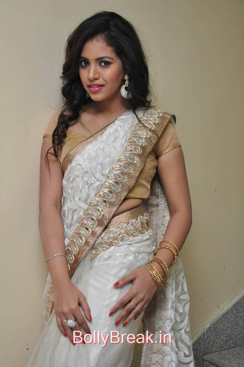 Tollywood Actress Gowthami Chowdary, Hot Pics of Gowthami Chowdary from Ramudu Manchi Baludu Audio Launch