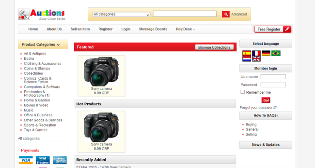 Ebay Clone Auction eCommerce Script Nulled – Zeeauctions