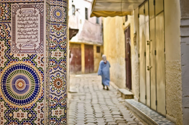 Moroccan tile inspiration photo from Cox and Kings