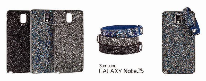 Samsung, Swarovski debut Galaxy Note 3 cover encrusted with Swarovski crystals (in limited-edition)