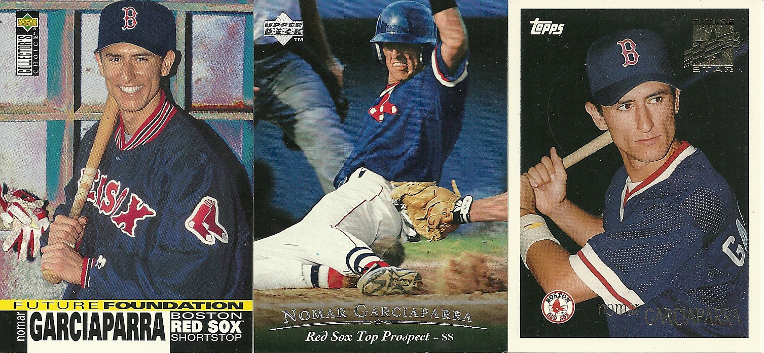 My Nomar Garciaparra Prospect And Rookie Card Collection