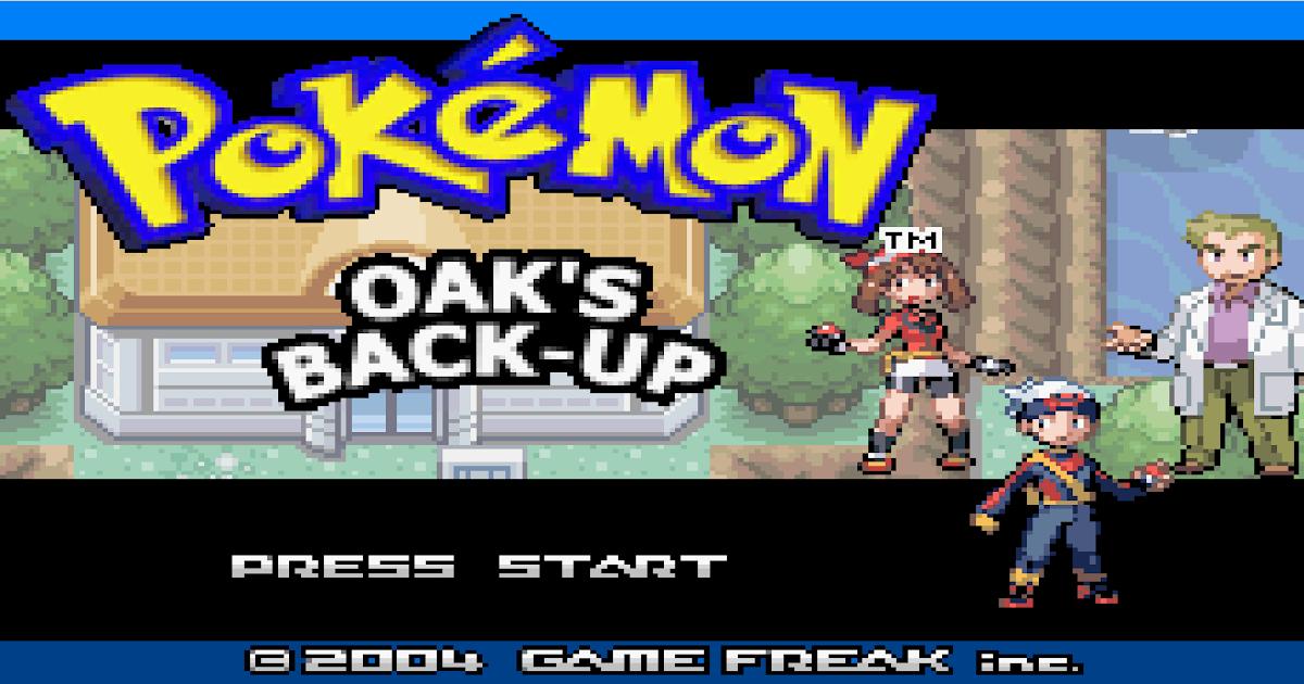 hack granja de oak pokemon rojo fuego android