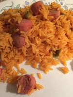 Rice With Sausages