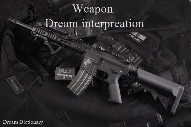 weapon dream meaning, hathiyar se jude sapne gvat gyan