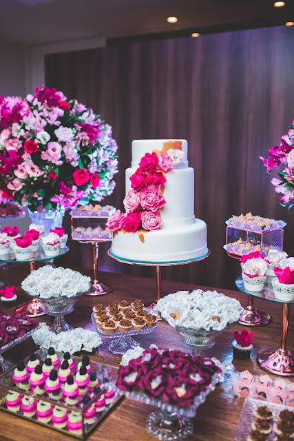 Festa Aniversário De Adulto Pink Rosa Marsala E Muita Elegância