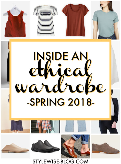 ethical capsule wardrobe with vintage style spring 2018 stylewise-blog.com