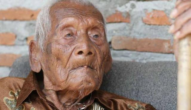Mbah Gotho Sragen Di Klaim Manusia Tertua Di Dunia, 145 Tahun Wow!!!