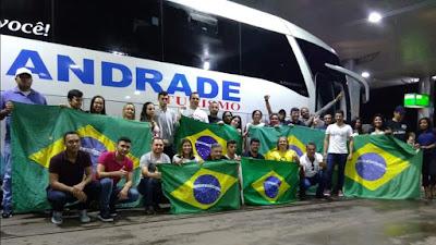 Caravana do Tocantins vai a Brasília para assistir à posse de Bolsonaro