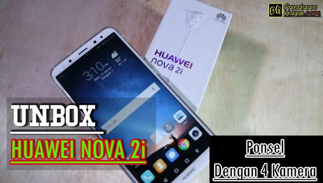 Unboxing Huawei Nova 2i