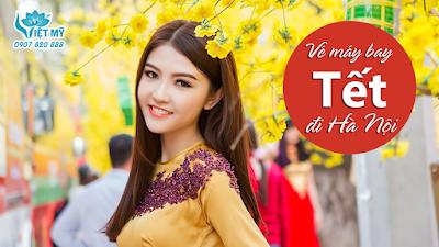 Xuất hành đầu năm cùng vé máy bay Tết Vietnam Airlines đi Hà Nội