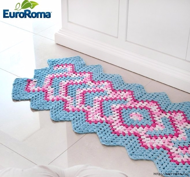 Crochet Patterns For Free Rug