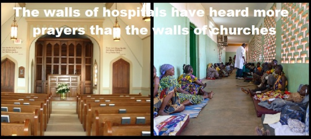 Why Do People Build Churches, Mosques, Temples and Not Hospitals