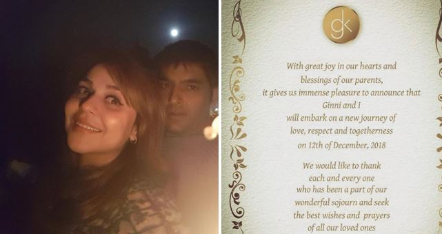 Kapil Sharma is Getting Married on This Date, Shares his Wedding