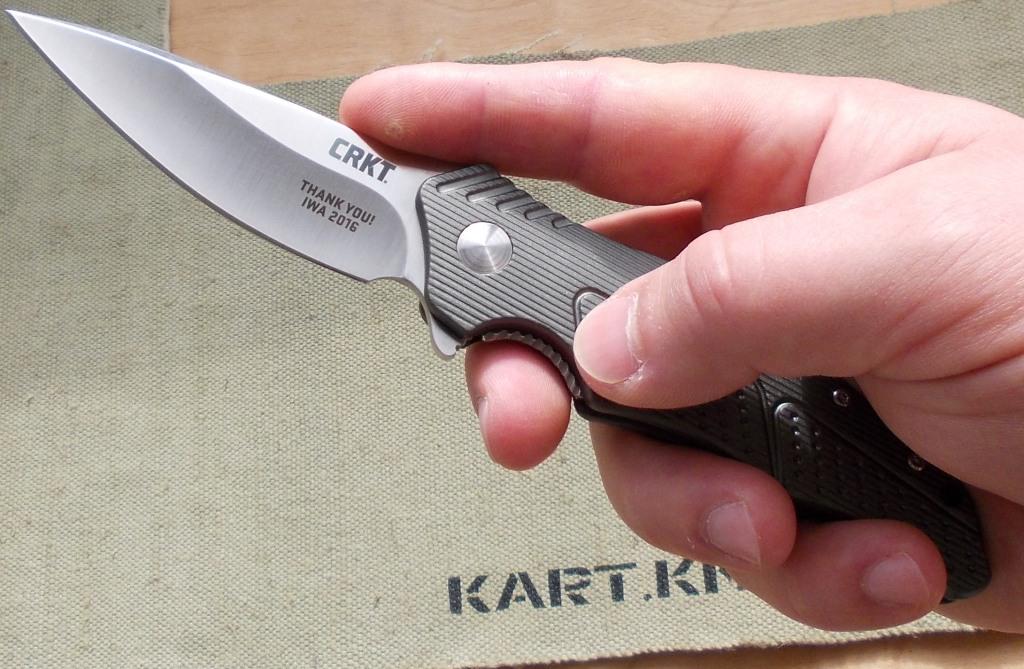 нож из каната фото