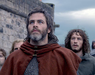 Chris Pine and Lorne MacFadyen in Outlaw King on NETFLIX