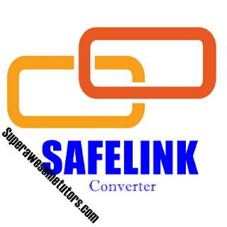 Cara membuat safelink