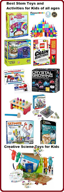 Best Stem Toys and Activities for Kids of all ages